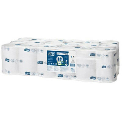 Tork Toilet Roll Mid-size Coreless 2-ply 93x125mm 900 Sheets White Ref 472199 [P