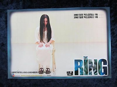The Ring lobby card # 3 Naomi Watts, Martin Henderson, Horror