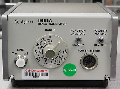 Agilent / Keysight 11683A Opt H01, Power Meter Range Calibrator, 30 day Warranty
