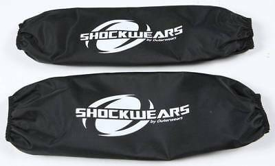 Outerwears Performance Products 30-1047-01 Black Coilover Covers Late Model