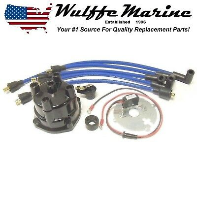 Electronic Ignition Conversion Upgrade Kit for Mercruiser 2.5L 3.0L 120 140 hp