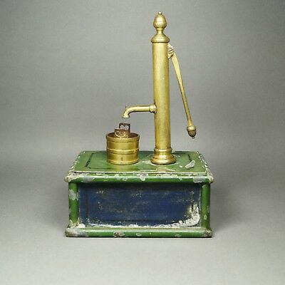 19th Century Miniature Victorian Toy Model Water Pump English Scratch Built