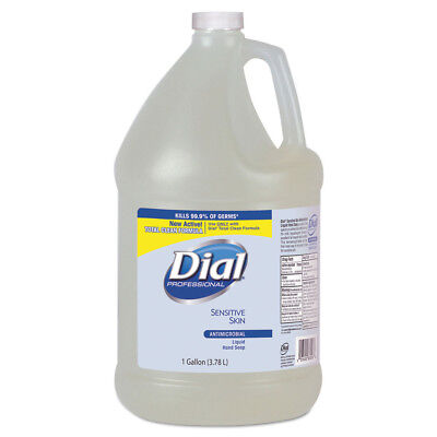 Dial Antimicrobial Soap For Sensitive Skin, Floral, 1gal Bottle, 4/ctn 82838 NEW