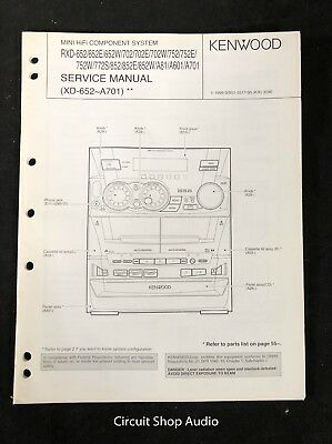 kenwood a701 repair manual