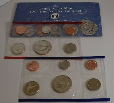"1991 U.S. Mint Set ""UNC"" *Free S/H After 1st Item*"