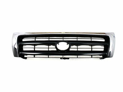 For Toyota Tacoma 97-00 Grille Chrome Argent Front 4WD Pre Runner