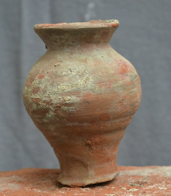 Nice quality early 16th Century Dutch ceramic drinking cup, late Gothic