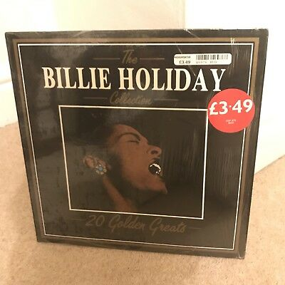 The Billie Holiday Collection 20 Golden Greats EX Vinyl LP Record DVLP