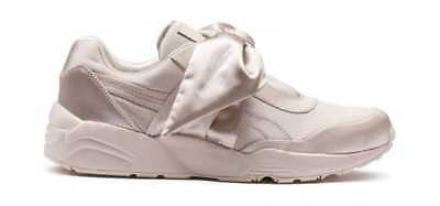 reputable site 3f2b6 2703a FENTY PUMA BY Rihanna Women's Bow Sneaker Pink Tint/Pink Tint/Pink Tint Silk