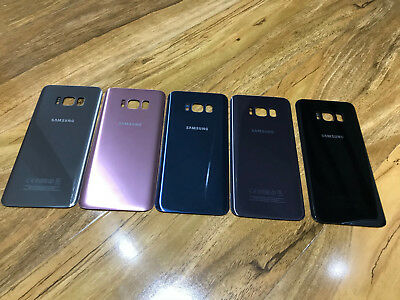 NEW- Samsung Galaxy S8 / S8+ Plus Back Rear Replacement Door Glass Battery Cover