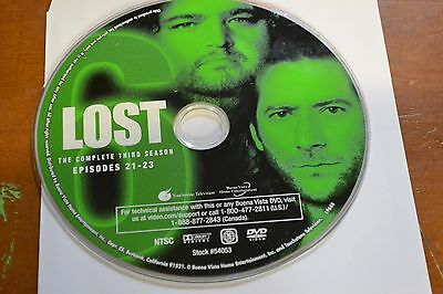 Lost Third Season 3 Disc 6 Replacement DVD Disc Only 70-34