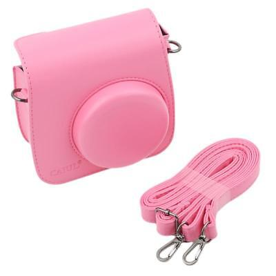 Women Shoulder Bag PU Leather Case Camera Bag for Fujifilm Instax Mini8 JA