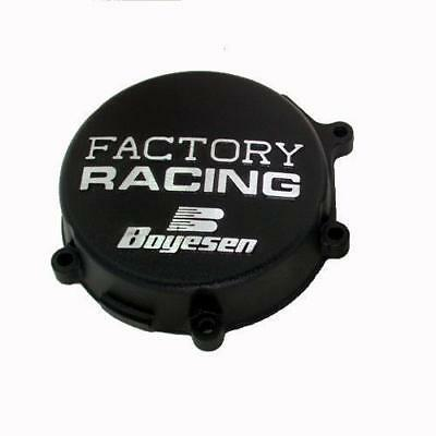 Boyesen Factory Racing Ignition Cover Black #SC-11AB Kawasaki KX125 2003-2005