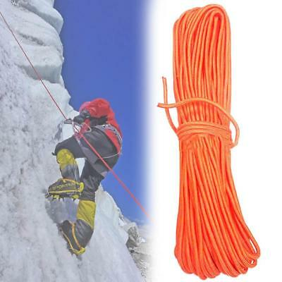 8mm 30m Mountaineering Rock Climbing Rope Outdoor Safety Rescue Auxiliary Cord