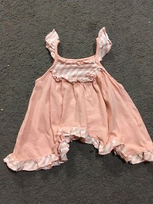 Baby Girls Short Sleeve Top Size 1 GUC
