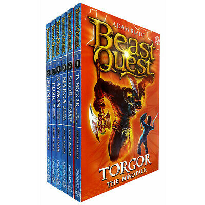Beast Quest Series 3 By Adam Blade 6 Books Collection Set Pack Paperback NEW