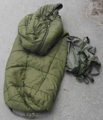 Army Issue Arctic Sleeping Bag With stuff sack  - New Issue - Bargain
