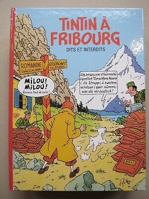 Pastiche Tintin A Fribourg  Hommage Comme Neuf
