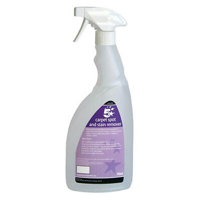 5 Star Facilities Carpet Spot and Stain Remover 750ml