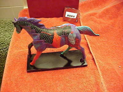 "The Trail Of Painted Ponies- ""EARTH, WIND And FIRE"" 4th Ed #0990 MIB/ Card-RESIN"