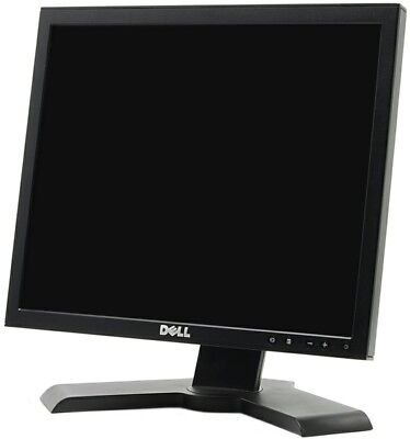 Lot Of 4 Dell 1708FP 17 Inch 4:3 1280x1024 LCD Monitors With Rotate & Swivel