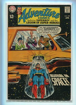Adventure Comics #379 Higher Grade Mournful Death Cover