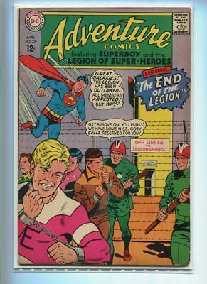 Adventure Comics #359 Solid Grade Great Concentration Camp Cover