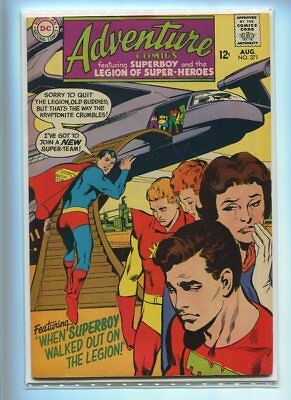 Adventure Comics #371 Hi Grade Mournful Cover Gem