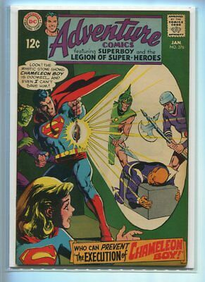 Adventure Comics #376 Hi Grade Dramatic Cover Gem