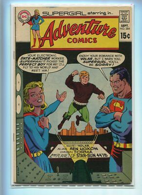 Adventure Comics #384 Higher Grade Classic Romance Cover
