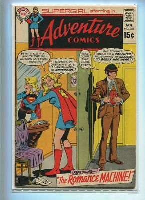 Adventure Comics #388 Higher Grade Great Domestic Cover Gem