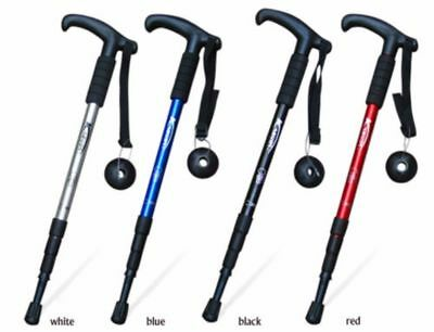 Walking Stick With Light Weight & Height Adjustable Free Standing Aluminium UK