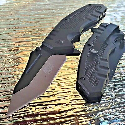 "8"" MTECH USA SPRING ASSISTED TACTICAL FOLDING POCKET KNIFE Blade Open Assist"