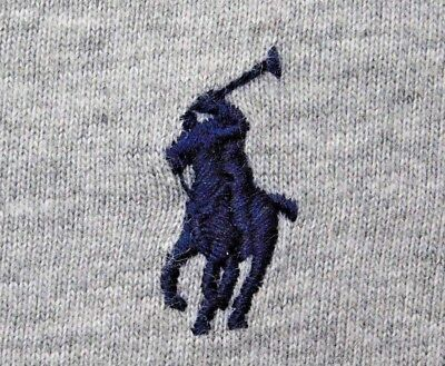 POLO RALPH LAUREN MENS REG Fit Cotton T-Shirt HEATHER GREY M OR S BNWT