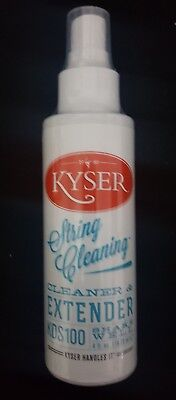 Kyser String Cleaner KDS-100 Saitenreiniger Schutz 118ml Dr. Stringfellow
