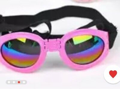 New Fashion For medium PET DOG Goggles Doggles SUNGLASSES UV Eye Protection Wear