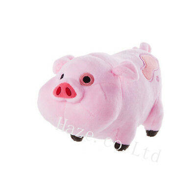 Gravity Falls Waddles Cute Pink Pig Stuffed Animal Plush Toy Doll For Kids