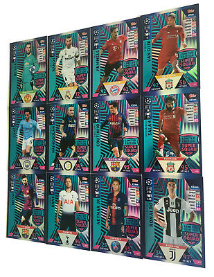 2018 2019 Topps Match Attax Champions League LIMITED EDITION Messi Ronaldo