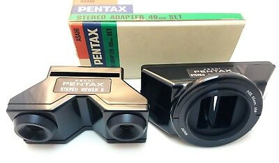 PENTAX STEREO ADAPTER 49 mm SET