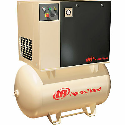 Ingersoll Rand Rotary Screw Compressor- 230 Volts, Single Phase, 5 HP, 18.5 CFM