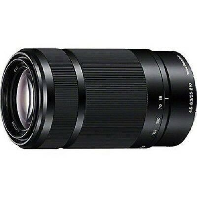 USED Sony E 55-210mm f/4.5-6.3 OSS Black SEL55210 Excellent FREE SHIPPING