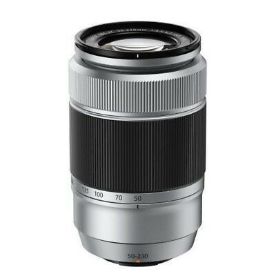 USED Fujifilm XC 50-230mm f/4.5-6.7 OIS Silver Excellent FREE SHIPPING