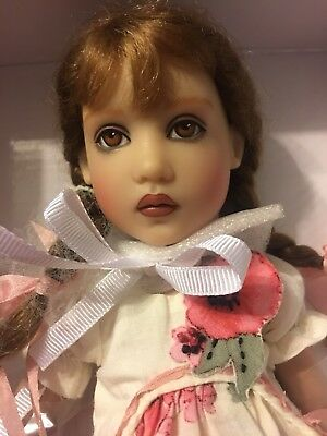 Olivia Tristesse Hand painted By Helen Kish--NRFB— Beautiful Doll #8 Brown Eyes