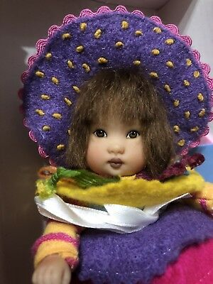 "Helen Kish 6"" Toy Ellery — Very Cute— Multi-colored Outfit- Adorable"