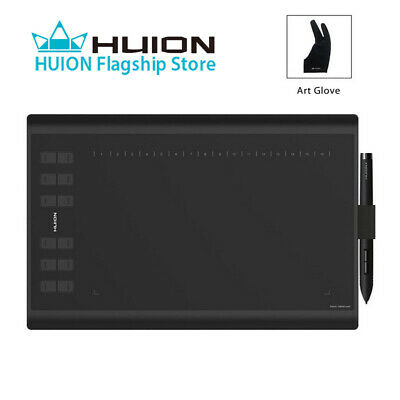 HUION 1060PLUS Graphics Drawing Painting Tablet 2048 Pen Pressure 10'' x 6.25''