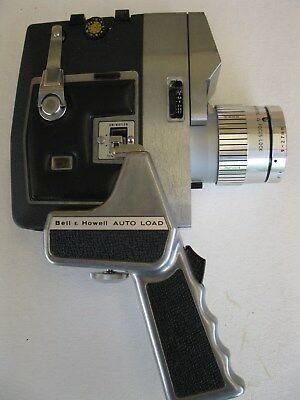 BELL & HOWELL 8mm MOVIE CAMERA - MODEL418 - MADE IN JAPAN