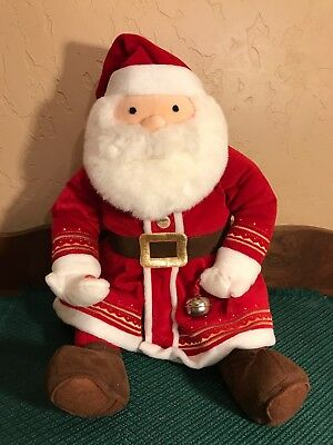 hallmark 18 polar express talking santa plush toy first gift of