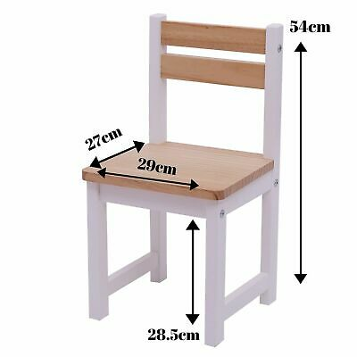 Tikktokk ENVY Wooden Children's Toddler Chair - WHITE