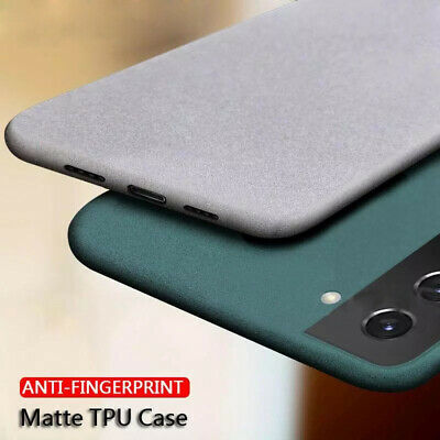 For Samsung Galaxy Note 9 8 5 4 Sandstone Matte Silicone Soft Back Case Cover