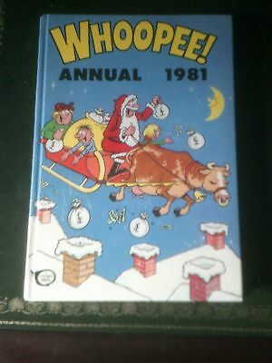 Whoopee! Annual 1981, Published 1980, Vintage Book,